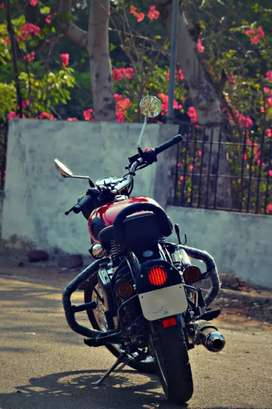 5 Months Old Red Colour Royal Enfield Classic 350