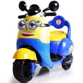 Mainan Anak Motor Aki Pliko Minion