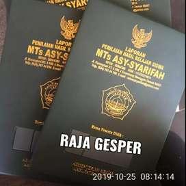 Map raport dan ijazah k13