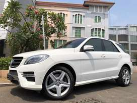 ML400 AMG 2015 Nik15 White On Saddle Brown Km30rb Record TDP Ringan
