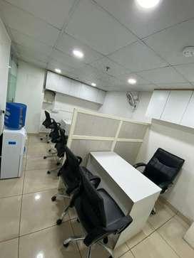 200sqft furnish office feroz gandhi market good location