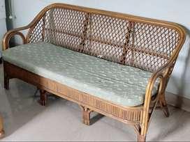 Sofa, 03 seater, Bamboo
