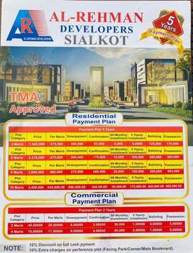 5 Marla plot file for sale at society price