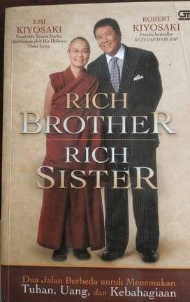 Buku Rich Brother, Rich Sister