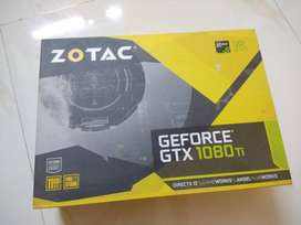 Zotac gtx 1080ti blower edition used for 6 months and 5 yrs warranty.