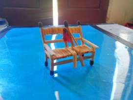 Miniature korek api bentuk kursi