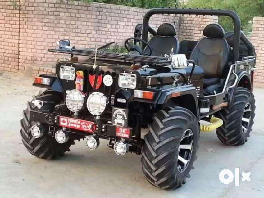 Rajinder motors Full modified Jeep ready your 0