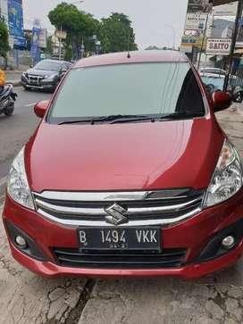Suzuki Ertiga GL Automatic Tahun 2016 Warna merah pajak hidup