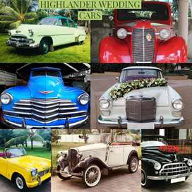 Vintage cars On rent for Weddings and shootings.