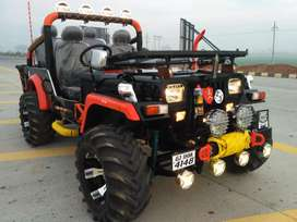 Panwar modified open jeep