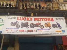 Buy any two wheeler in zero down payment