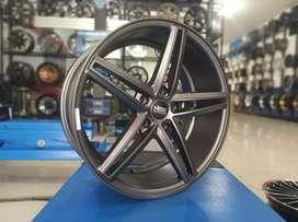 Velg racing import HSR R18 lubang 5 for civic accord inova xpander dll