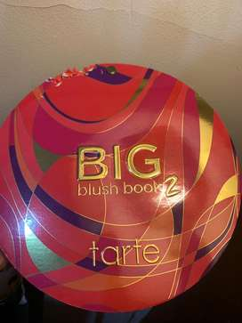 Blush on tarte big blush book 2