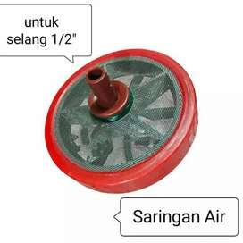 Saringan selang air 1/2inchi water filter strainer foot klep