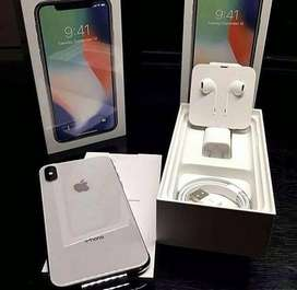 Iphone X 256gb silver colour avaliable here