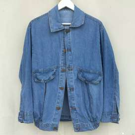 Jaket Jeans (Medium Blue)