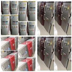 5 year warranty double door fridge/ single door fridge available