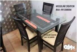 Four Seater Brand New Dining Table Very Low Price