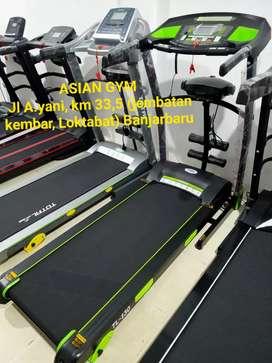 Treadmill multifungsi hemat listrik 2hp