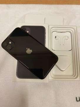 I-PHONE 11 BLACK COLOR