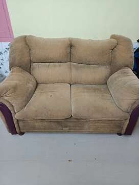 Wooden sofa set 2 for urgent sale
