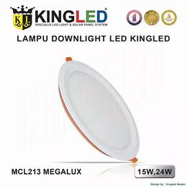 KINGLED Lampu Plafon LED  15 Watt DownLight LED