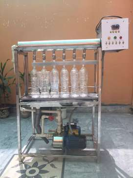 Full Stainless steel Water, Milk and Juice filling Machine