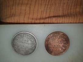 Antique coins ORIGINAL grand father collection