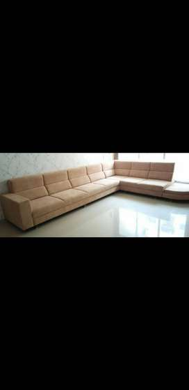 Brand new branded Comfort Pattern Sofa with Longer sitting
