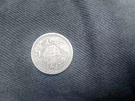 1944 half Rupee