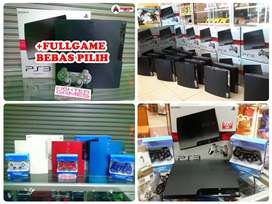 [NEW/BARU] PS3 500GB +FULLGAMES Bisa Request PS 3 SONY Playstation HDD