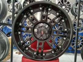 Velg Mobil HSR Wheel KONING R22 Untuk Pajero Sport Fortuner dll