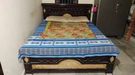 Double queen size bed and sofa set