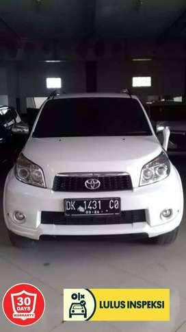 [Lulus Inspeksi] Toyota Rush S/AT 2013 Putih