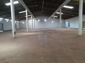 60k sq.ft. shed available for rent at Satpur midc