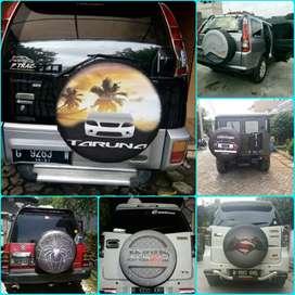 Cover Ban Serep Rush Land Cruiser BJ40 Sarung Ban Taruna  Terios 22