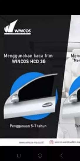 KACA film wincos wb solusinya menghindari teriknya matahari yg panas