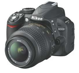 Nikon DSLR 3100 with 18-55 MM VR Lense with Battery Charger