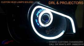 Mahindra Bolero Custom Projector Headlights