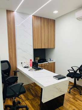 fully furnished office  available for rent