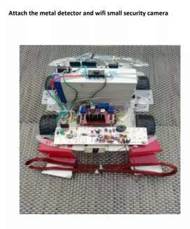 Arduino Smart Security Car Project For sale