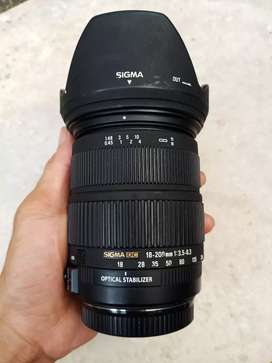 Sigma 18 200 os hsm for canon