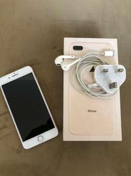Iphone 8 plus (gold) 64gb.