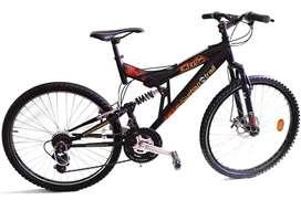 Urban Trail Agyle Cycle (Black)