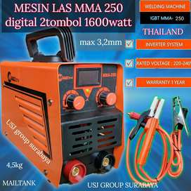 Mesin Las MAILTANK MMA 250 Digital 2 Tombol 1600watt