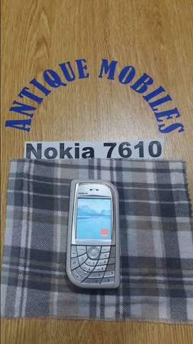 Nokia 7610 antique old is gold vintage in very good condition