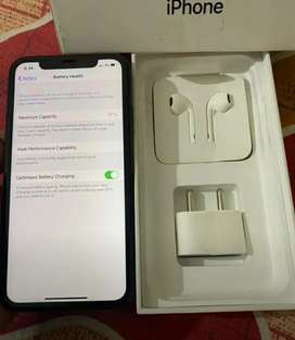 IPhone xr 64gb 2mnths piece with total kit...replaced mobile