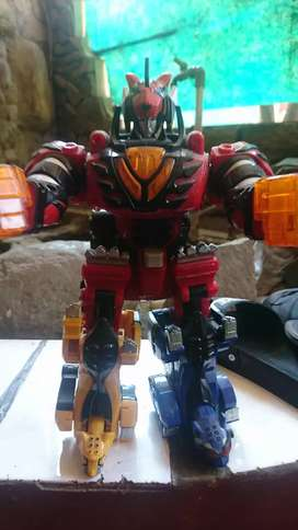 Jungle beast megazord bandai