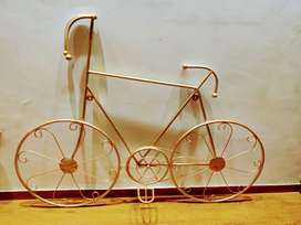 Decorative cycle golden shade