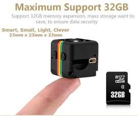 Mini Spy Camera Dv SQ21 Full HD 1080p Night Vision 12MP/Kamera SQ 21